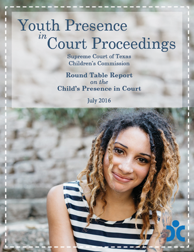 Youth Presence in Court Proceedings Roundtable Report